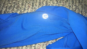 Blue Lululemon Running Pants