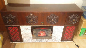 Stereo fireplace