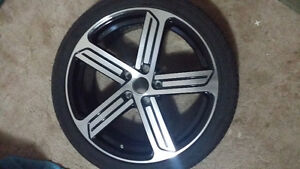 "Set of 4 volkswagen 18"" rims with tires"