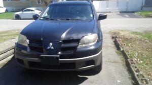 Mitsubishi, outlander, 2003