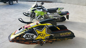 wrap your sleds before the snow flies dont forget your trailers