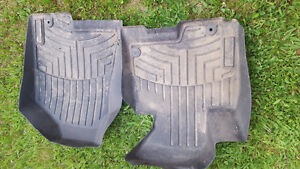 Used 2014 Hyundai original rubber winter mats, front & back