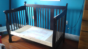 3 in 1 crib and toddler bed