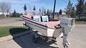Older boat for sale. Just in time for fishing season. Edmonton Edmonton Area image 1