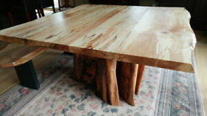 Beautiful Live Edge and Reclaimed Wood Tables