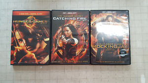 Hunger Games all but MockingJay Part 2 $15 OBO