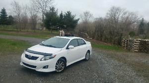 Toyota corola sport 2010 automatique