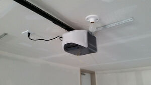 Professional garage door opener install your opener for $80 CASH