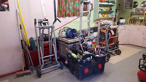 ALL PROFESSIONAL TOOLS & EQUIPMENT FOR RENOVATIONS $7,000 WORTH