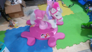 Child jumping horse 10.00