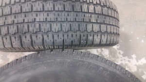 4 BFGoodrich Winter Slalom tires P205/70R15 Kitchener / Waterloo Kitchener Area image 2