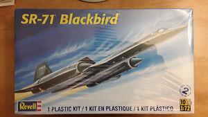 Revell SR-71 Blackbird & Wright Flyer Plastic Model Kits