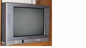 """TOSHIBA TV 20"""" Flat Screen, with Remote"""