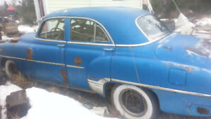 1952 Chevy claasic car