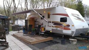 Roulotte, Sunset Trail 2007 23CK, Hybrid(rigide), 8000$