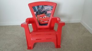 Multi - use lightning McQueen chair Prince George British Columbia image 1