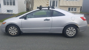 2006 honda civic coupe with roof rack