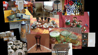 Lots of BEAUTIFUL items for SALE - DON'T MISS IT.