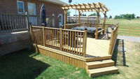 OUTDOOR OASIS FENCE & DECK- Winter/Spring Booking