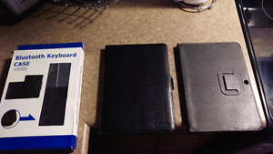 Samsung Tab Leather Cases / Keyboard