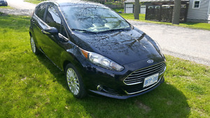 2016 Fiesta Ford titanium model top of the line loaded