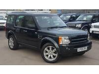 2009 LAND ROVER DISCOVERY 3 TDV6 HSE GALWAY GREEN CREAM LEATHER JUST 31000