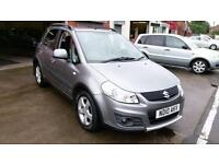 SUZUKI SX4 SZ4 1.6 F.S.H 80K JUST SERVICED AND TESTED 2 0WNERS MET GREY 2010