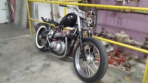 1967 BSA chopper project Cambridge Kitchener Area image 5