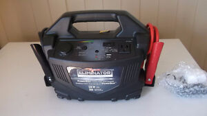 Selling a brand new battery booster, power pack with inverter.