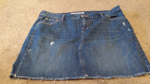 Size 16 Jean Skirt New