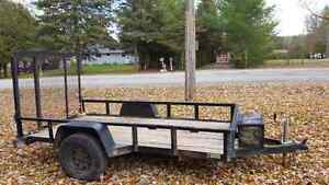 5x10 landscape trailer.  Kawartha Lakes Peterborough Area image 1