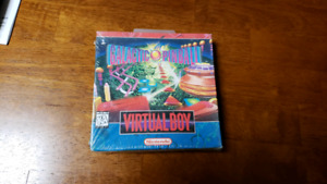 Galactic Pinball for Virtual Boy - New in Box, Sealed!