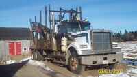 Western Star Pulp Truck with Loader 1984