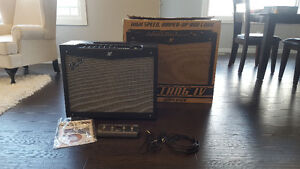 "Mustang IV Guitar Amp, 2X12"", 150 Watts, 4 Button Foot switch"