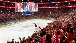 2X TICKETS MONTREAL CANADIENS HOCKEY 19 NOV RED Sect 124