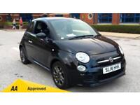 2014 Fiat 500 1.2 S with Bluetooth Air Con Manual Petrol Hatchback