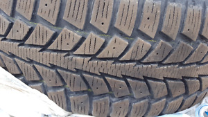 LIKE NEW  16.5' WINTER TIRES ON RIMS 70-80% THREAD FOR $470