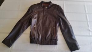 Ocean West Leather Coat