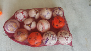 Soccer ball with cones