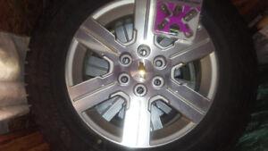 4 mags 18po et pneus