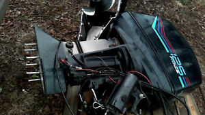 Two force 125 hp outboard motors for sale