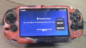 PS VITA WITH SIM CARD SLOT and Call Of Duty