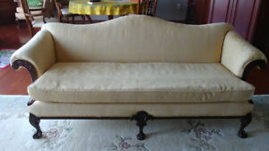 Couch & Chair, + 2 wing-Chairs