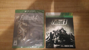 Fall out 3 and 4 for Xbox one