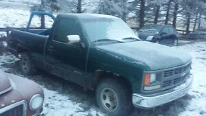1997 2wd chevy 1500 truck driving project
