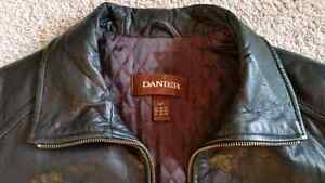 Black Danier Leather Jacket (Men's Small) Sarnia Sarnia Area image 4