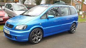 Vauxhall Zafira 2.0I 16V GSI TURBO (blue) 2003