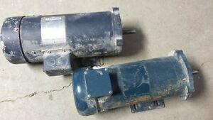 DC MOTORS  90volts 1 hp