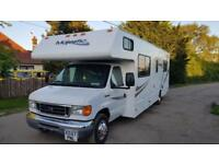 2008 FORD E450 MOTOR HOME RV V10 AUTO CAMPER 8 BERTH