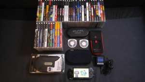 Moded PSP with 2000 games + 40 psp games + Extras